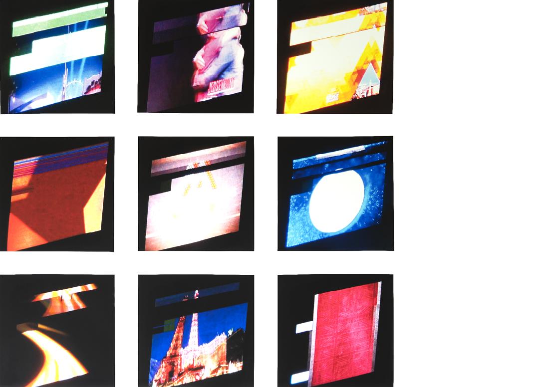 «Showtime», 9 Videostills, 90 x 90 cm, 2019